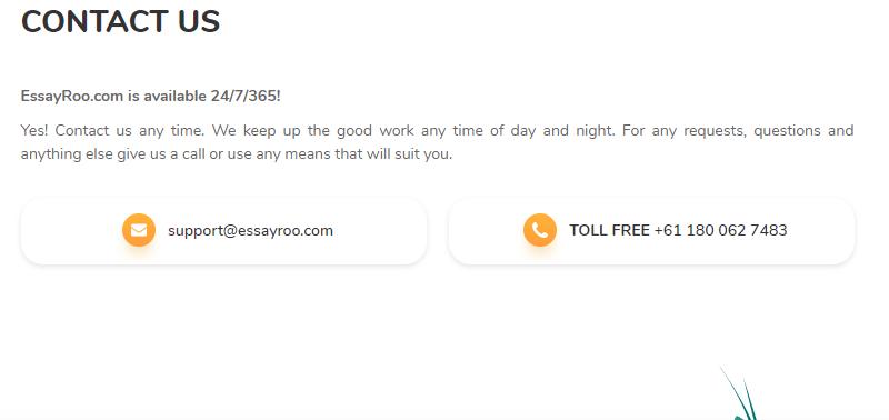 essayroo.com customer service