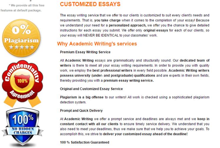 AcademicWriting.com.au services