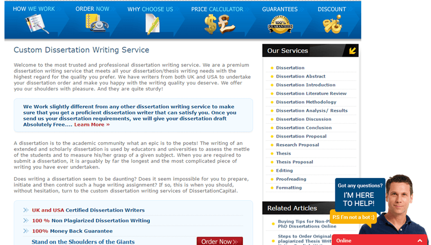 DissertationCapital.com services