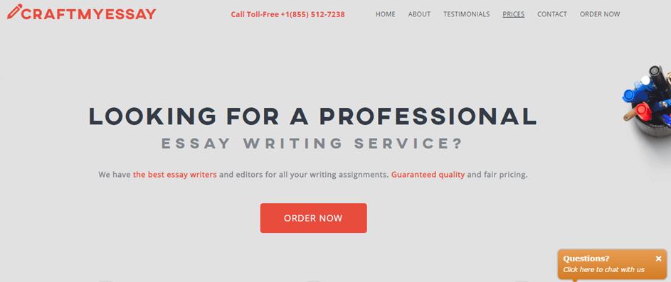 CraftMyEssay.com services