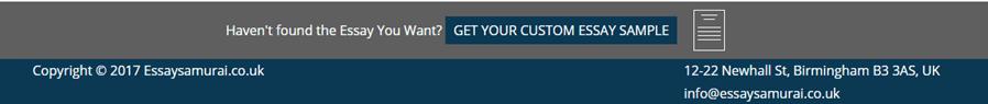 Essays.Essaysamurai.co.uk customer service