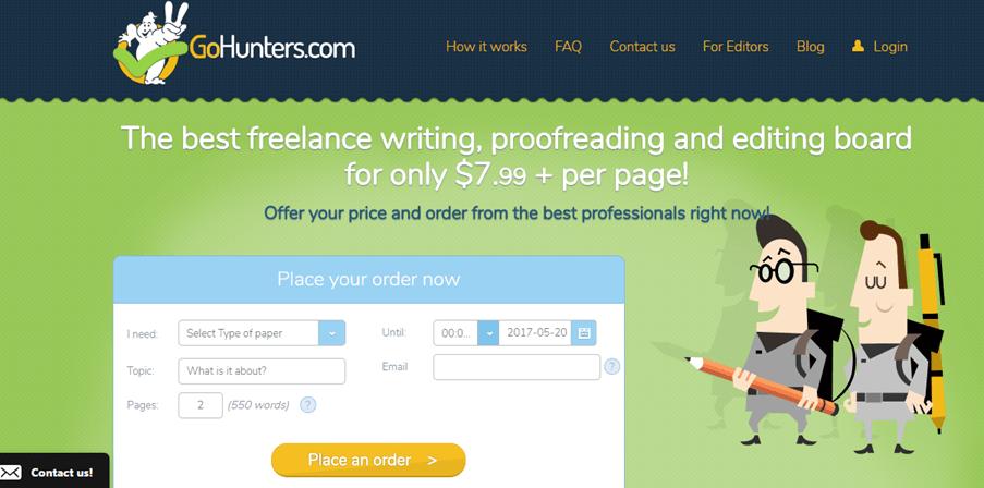 GoHunters.com services