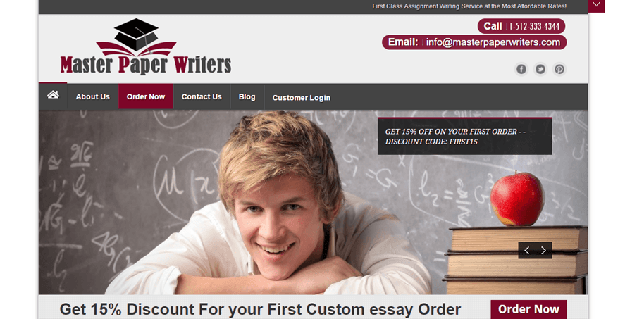 MasterPaperWriters.com services
