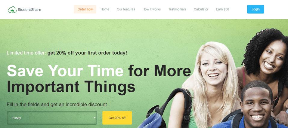 Order.StudentShare.net services
