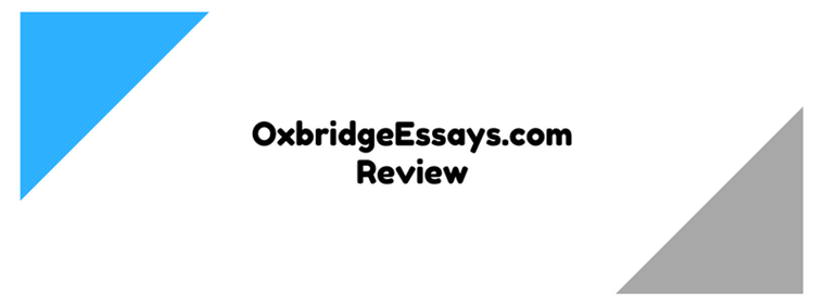 Oxbridge essays