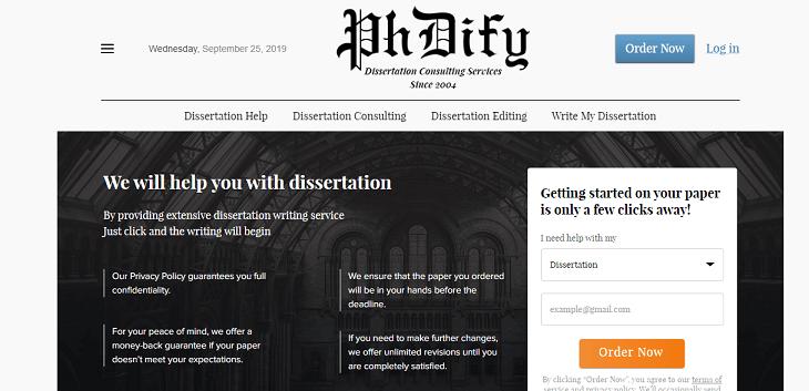 PhDify.com services