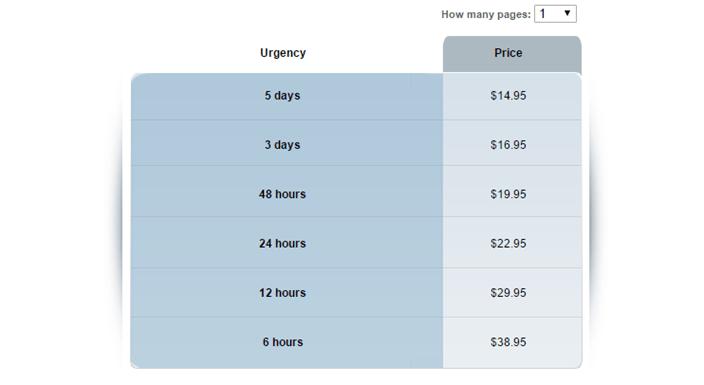 SolidEssay.com prices