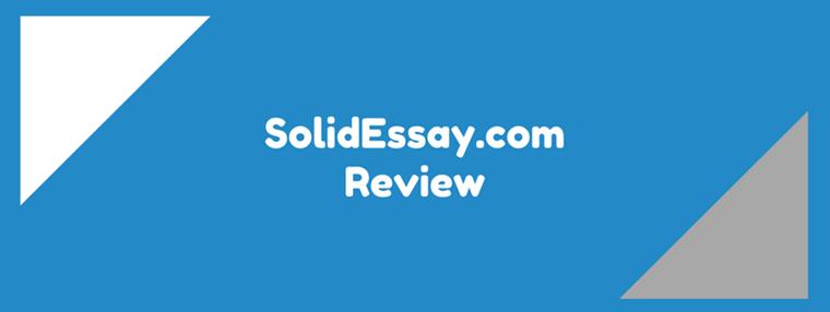 solidessay.com review