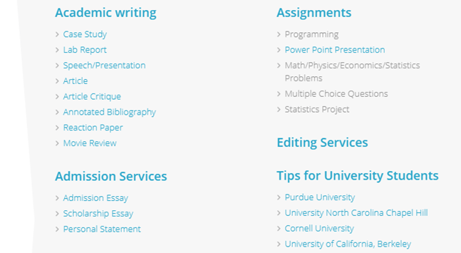 College-Paper.org services