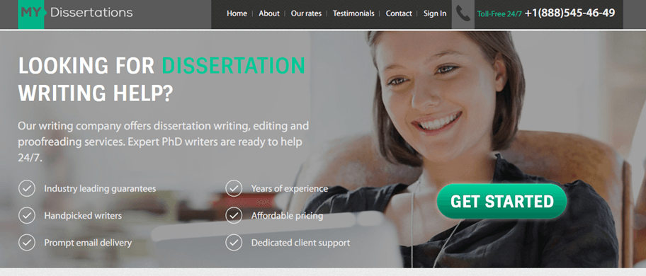 MyDissertations.com services