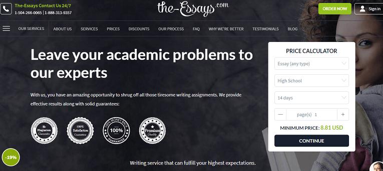 The-Essays.com services