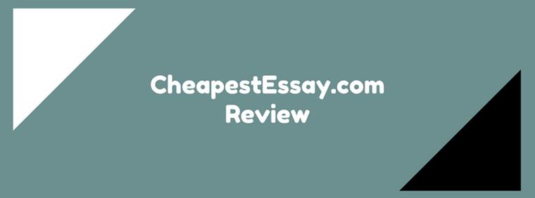 cheapestessay.com review