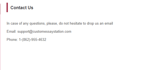customessaystation.com customer support