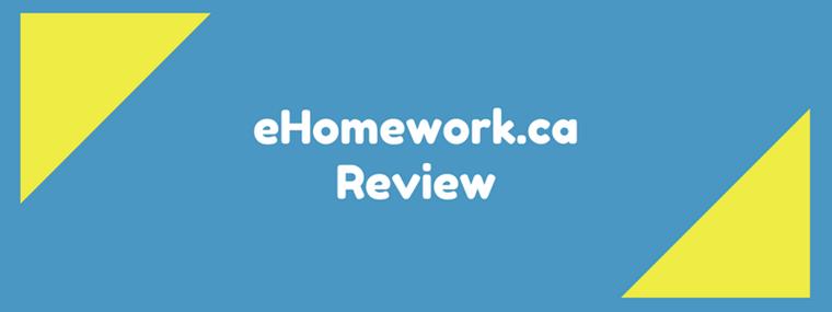ehomework.ca review