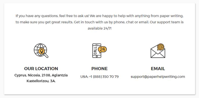 paperhelpwriting.com customer service