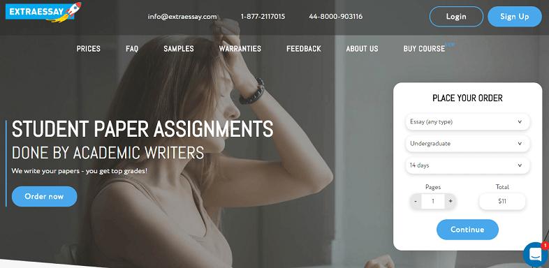 extraessay.com website