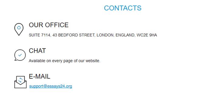 essays24.org customer service