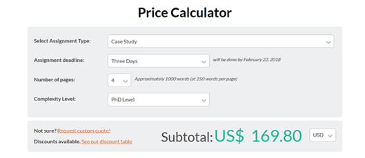 abcessays.com prices