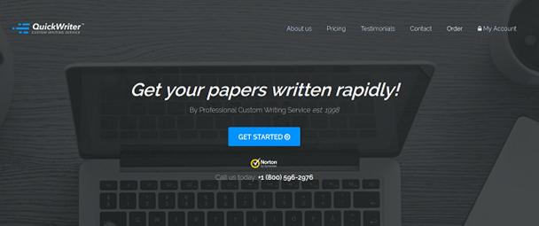 quickwriter.com website