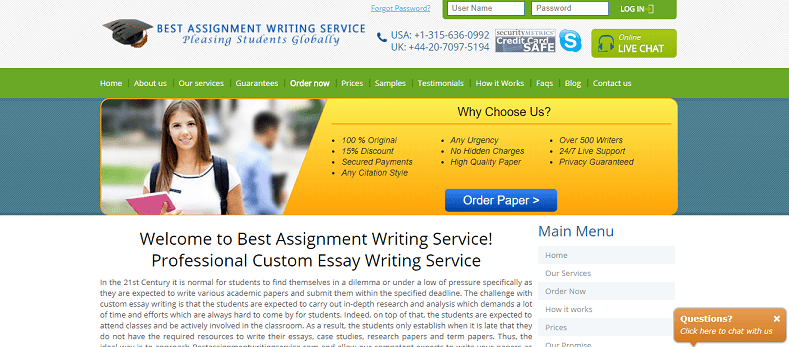 bestassignmentwritingservice com website