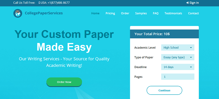 collegepaperservices.com website