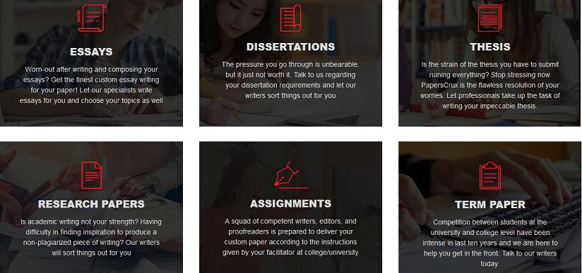 paperscrux.com services