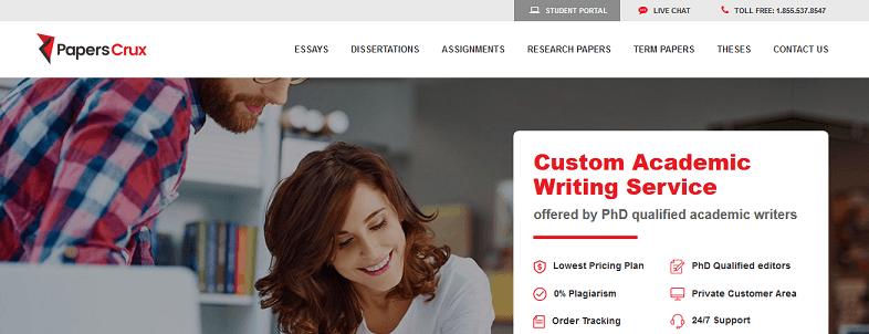 paperscrux.com website