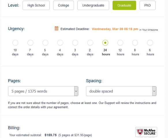 wiseessays.com prices