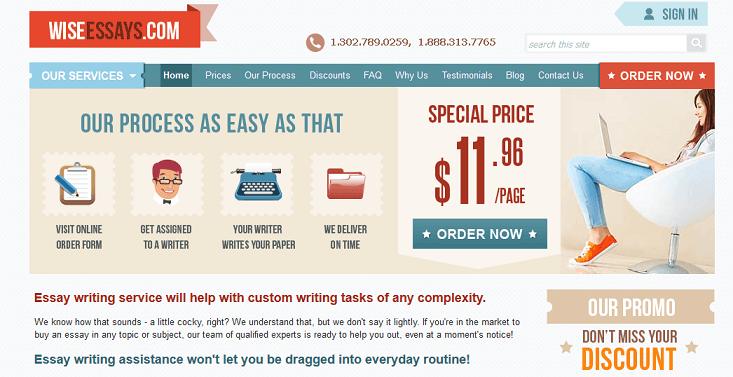 wiseessays.com website