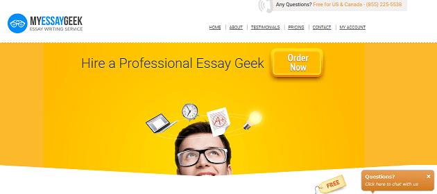 myessaygeek.com website
