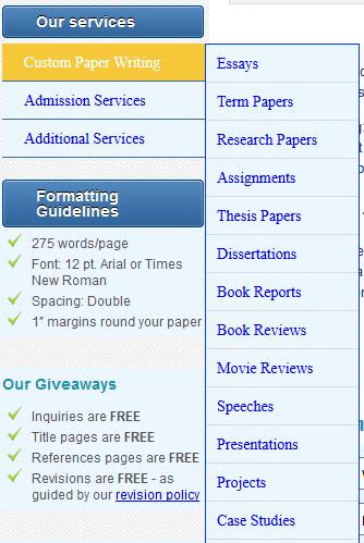 sleekwriters.info services