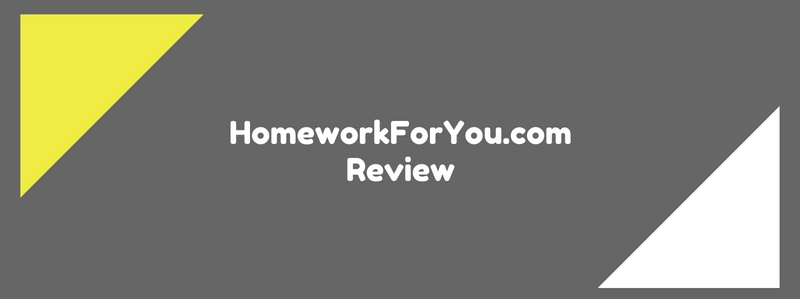 homeworkforyou.com review