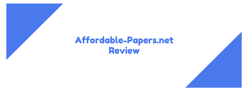 affordable-papers.net review