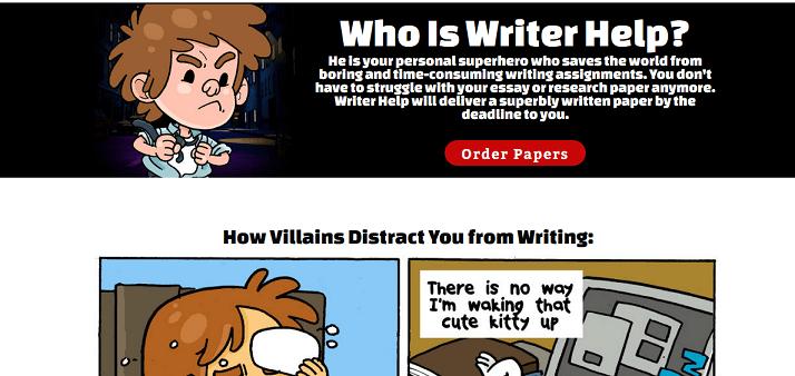 helpwriter.com website