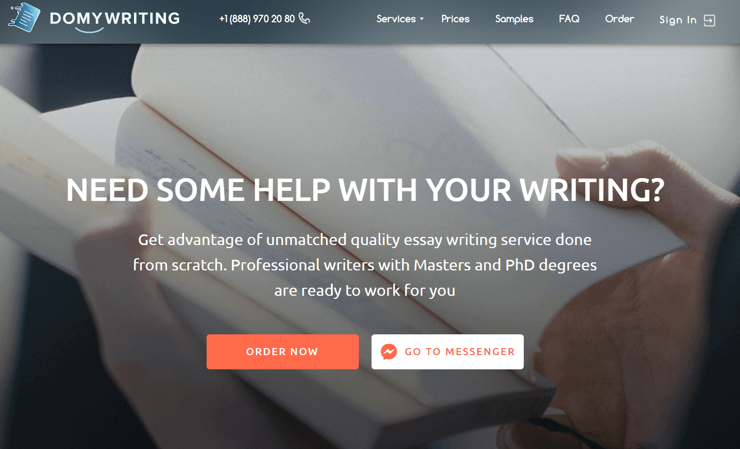 domywriting.com website